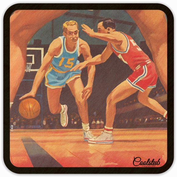 Best Father's Day Gifts 2019: Coolstub™ 1950's Basketball Art Coasters