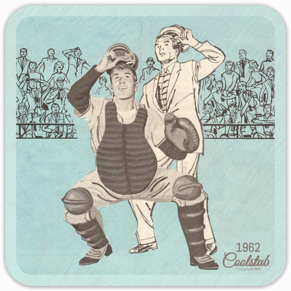 Best Baseball Gift Ideas: Coolstub™ 1962 Baseball Art Coasters