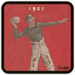 '21 Touchdown! Best Father's Day Gifts 2019! Coolstub™ 1921 Vintage Football Coasters