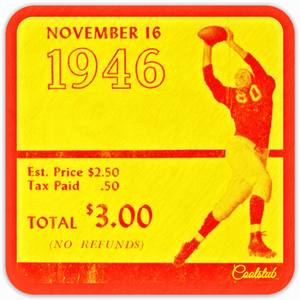 November 16, 1946: Ticket Coasters by Coolstub™