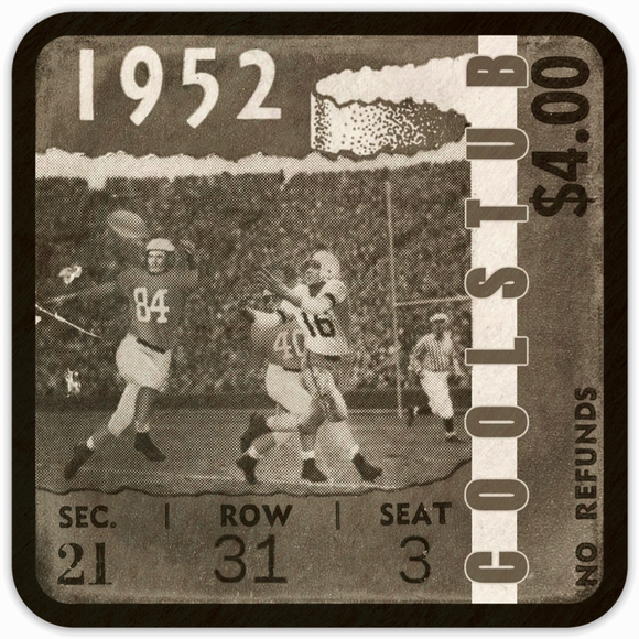 1952 Pop Culture Gifts: Coolstub™ 1952 Ticket Coasters