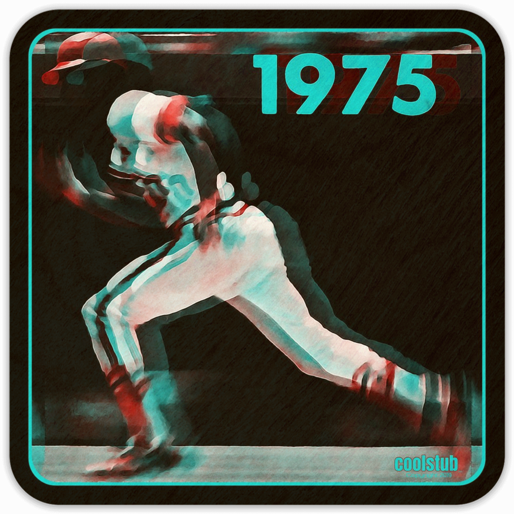 1975 Base Running Coasters by Coolstub™