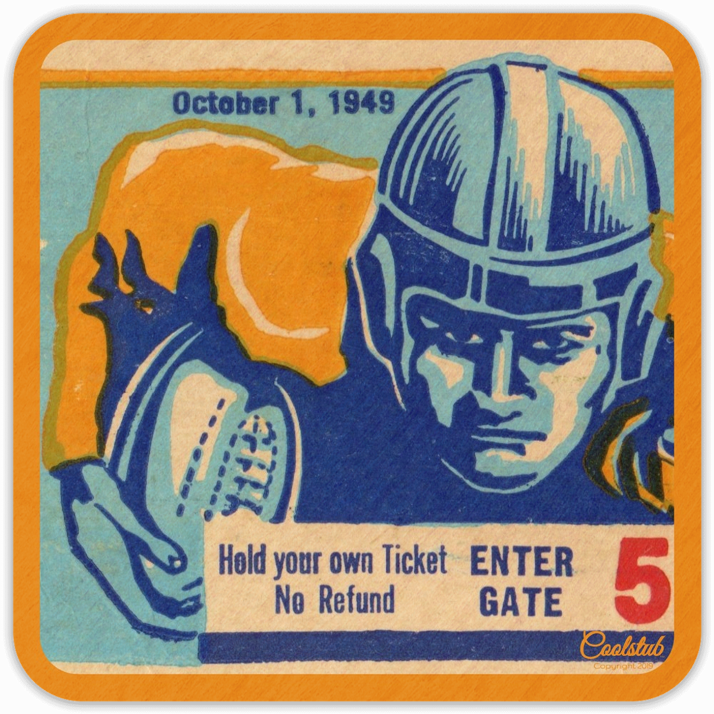 Ticket Coasters: October 1, 1949 Birthday Gift ideas for Sports Fans