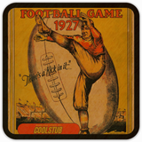 There's a Kick in It™  Football Coasters by Coolstub™