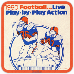 1980 Pop Culture Gift Ideas: Coolstub™ Live Play-by-Play Action Coasters