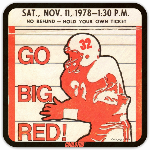 November 11, 1978 Birth Year Gift Idea: Coolstub™ Ticket Stub Coasters