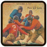 Best Father's Day Gift ideas 2019! 1937 Football Program Coasters by Coolstub™