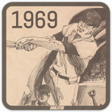1969 Baseball Art Coasters by Coolstub™