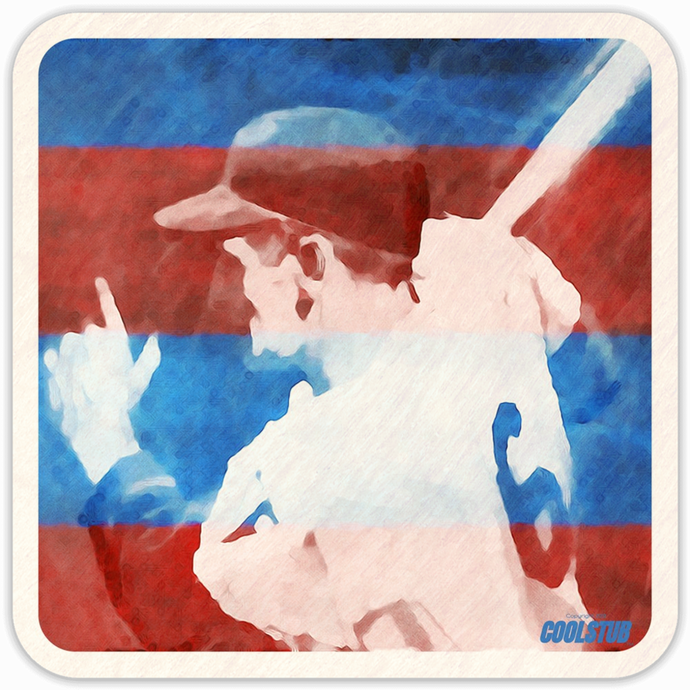 1969 National Pastime Drink Coaster Set by Coolstub™