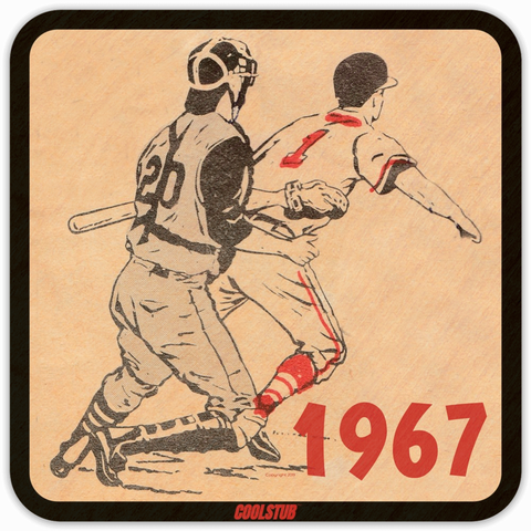 Coolest Father's Day Gifts of 2019! Coolstub™ Retro Sports Drink Coasters