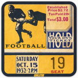 Father's Day Gifts for Dads that Love Coffee: Coolstub™ Vintage Ticket Coasters