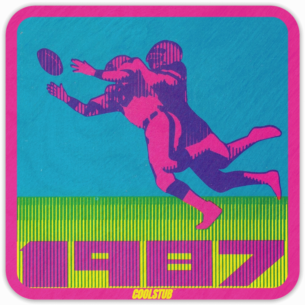 1987 Rewind: Retro Football Coasters by Coolstub™