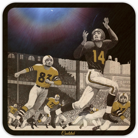 Best Father's Day Gift Ideas For Football Fans: 1956 Night Game Football by Coolstub™