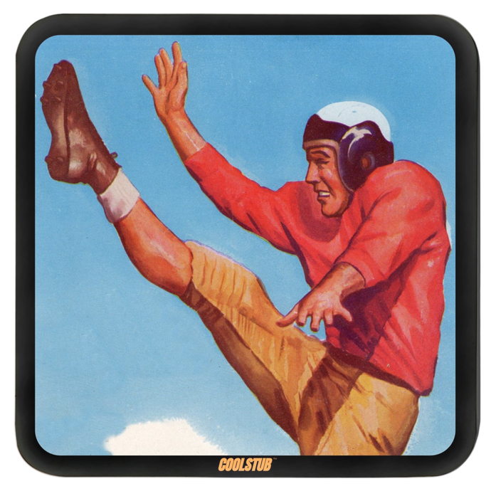 Vintage Football Punt Hardboard Coasters by Coolstub™
