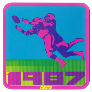 1980's Retro Drink Coaster Variety Set (6)