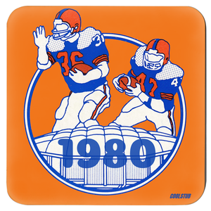 1980 Retro Football Coasters by Coolstub™
