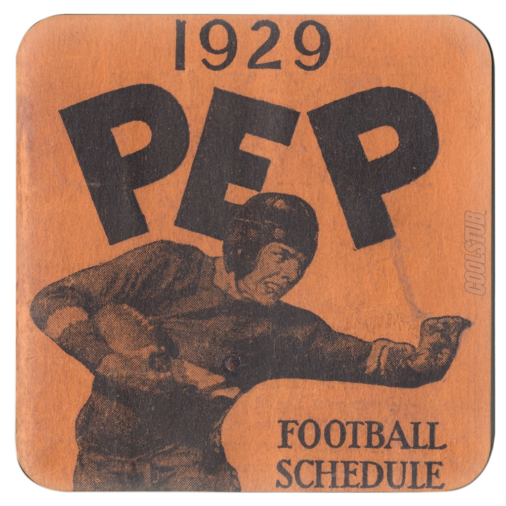 1929 Football Schedule Coasters by Coolstub™