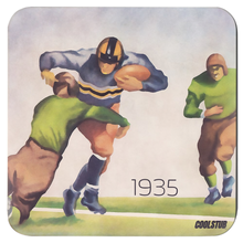 Load image into Gallery viewer, 1935 football program cover art