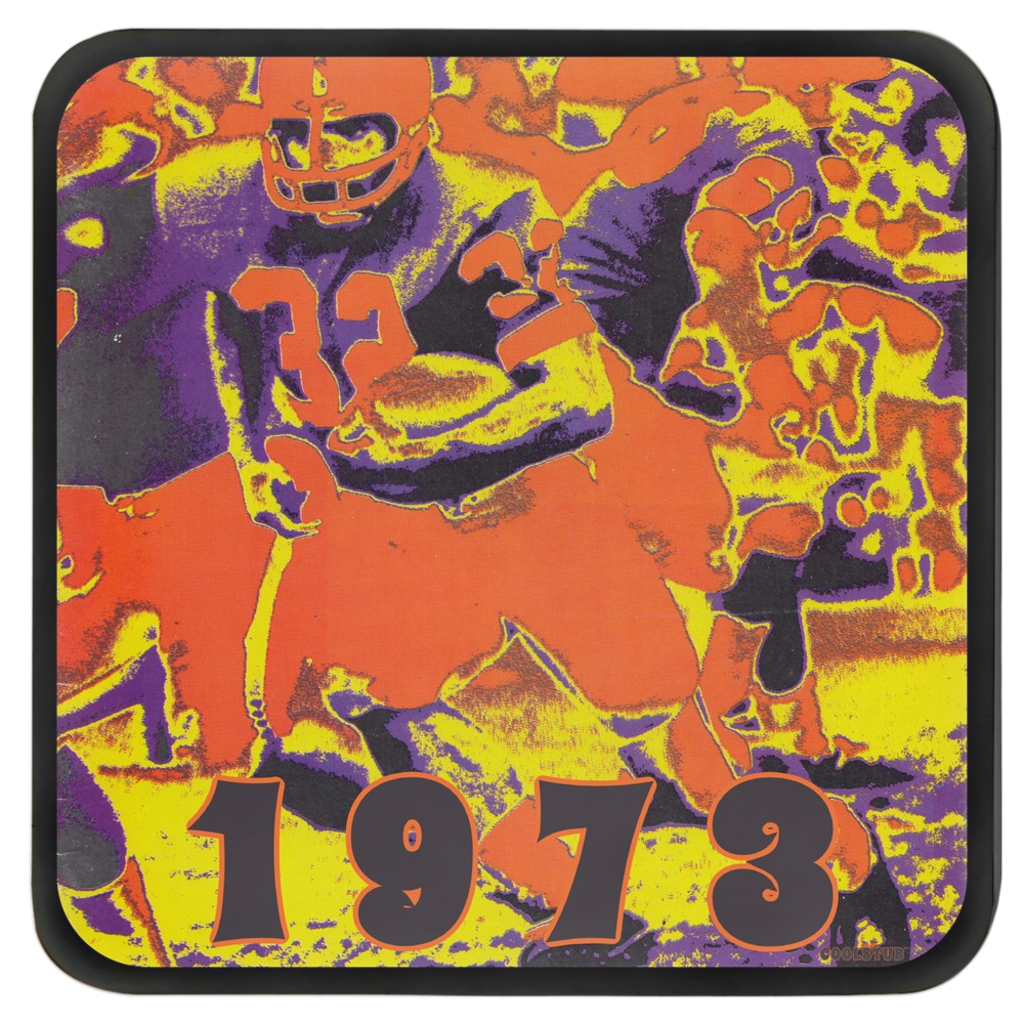 vintage football drink coasters