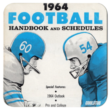 Load image into Gallery viewer, Vintage Football Coasters (1964)