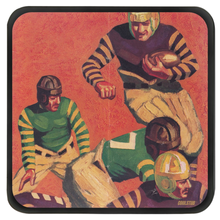 Load image into Gallery viewer, Vintage Football Art Drink Coasters (1934)