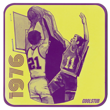 Load image into Gallery viewer, Basketball Drink Coasters (1976)