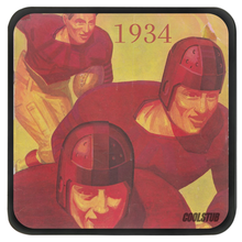 Load image into Gallery viewer, Vintage Football Art Coasters (1934)