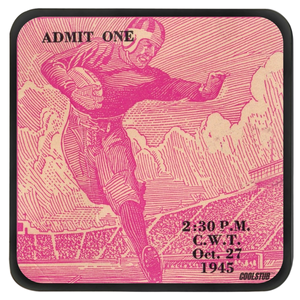 Vintage Ticket Stub Coasters (1945)