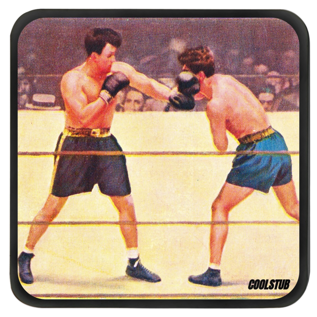 """Punch First"" Vintage Boxing Coasters"