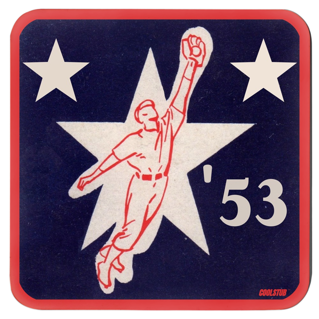 '53 Baseball Star Coasters