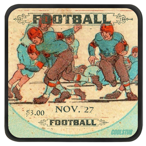 """All-Out Effort in '28"" Coasters"