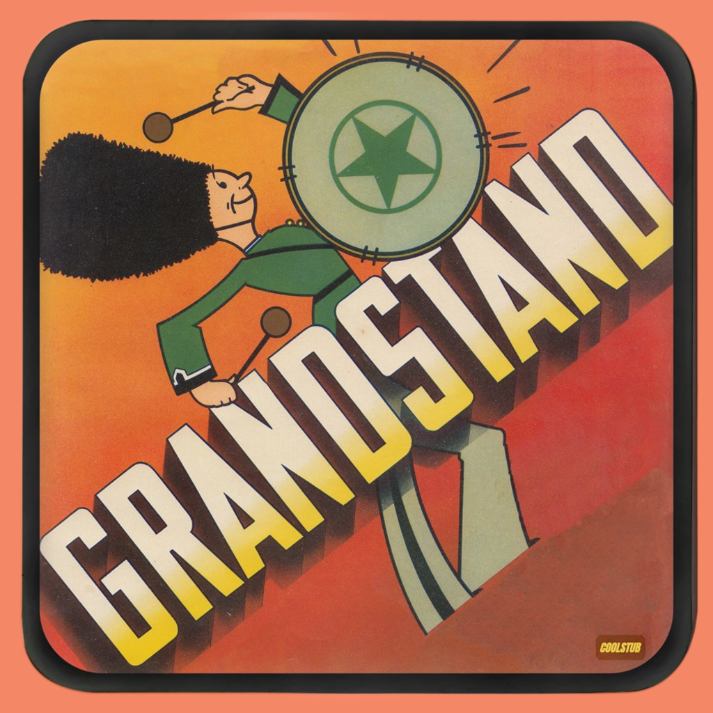 Marching Band Grandstand Coasters (1930's)