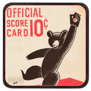 '39 Grab Baseball Scorecard Coasters