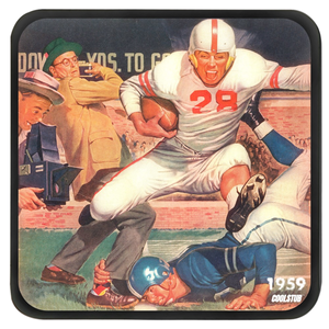 2019's Best Holiday Sports Gifts: 1959 Football Coasters