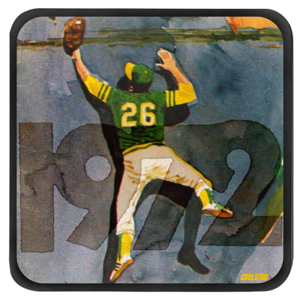'72 Outfield Grab Coasters
