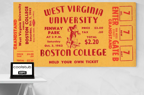 1942 West Virginia vs. Boston College