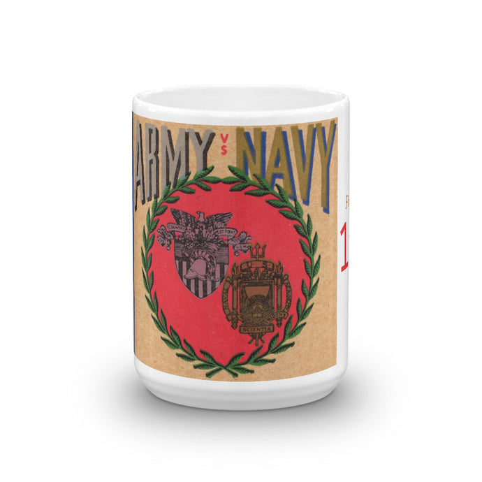 1946 Army vs. Navy Football Ticket Mug