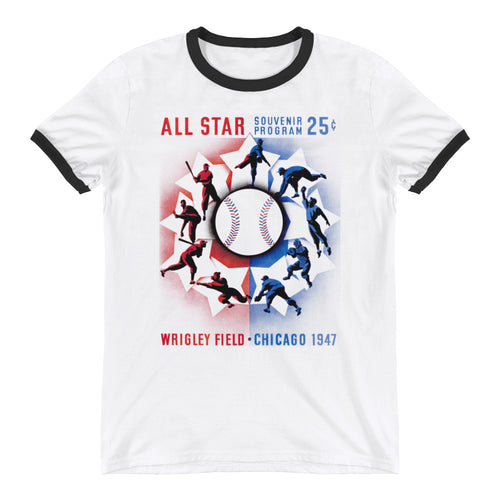 1947 Chicago Cubs All-Star Game Tee