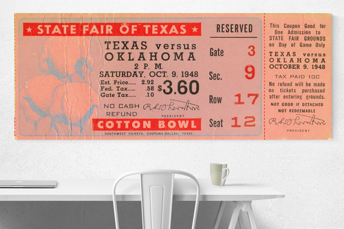 1948 Oklahoma vs. Texas