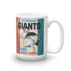 1962 San Francisco Giants World Series Mug