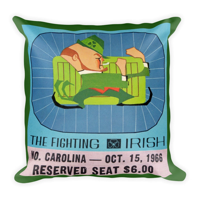 1966 Notre Dame Irish Throw Pillow