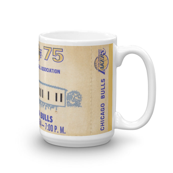 1974-75 Los Angeles Lakers Mug