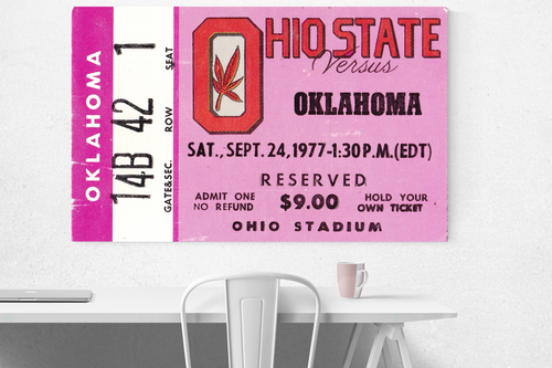 1977 Oklahoma vs. Ohio State