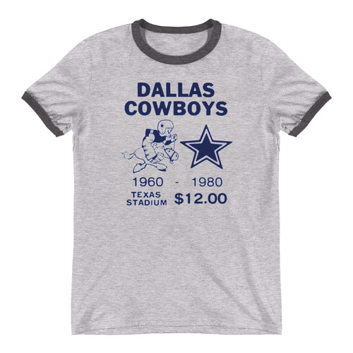 Vintage Dallas Cowboys Tee | COOLSTUB retro sports tees