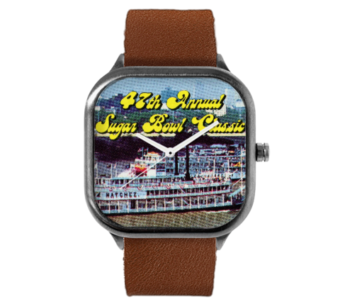1981 Sugar Bowl Ticket Watch (Georgia Bulldogs National Champions)