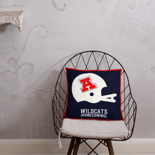 1982 University of Arizona Ticket Pillow