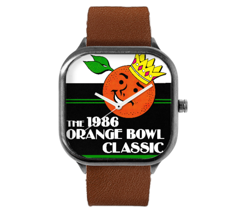 1986 Orange Bowl Watch (Oklahoma Sooners)