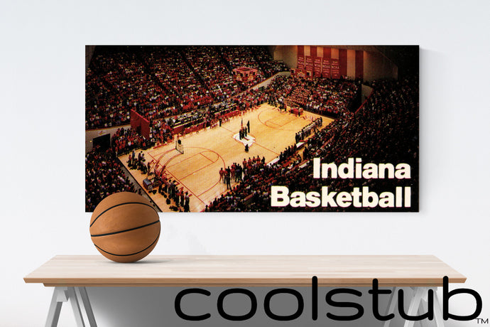 Coolstub™ 1987 Indiana Hoosiers Assembly Hall Art