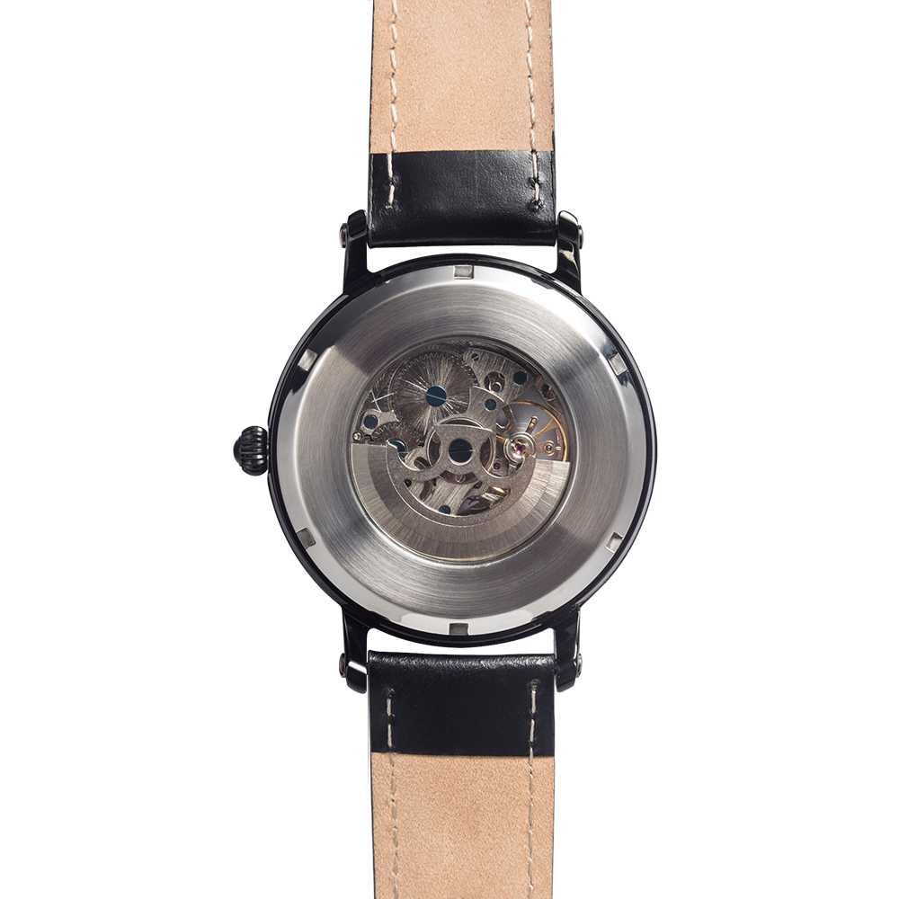 '59 QB Star Watch (Black Leather)