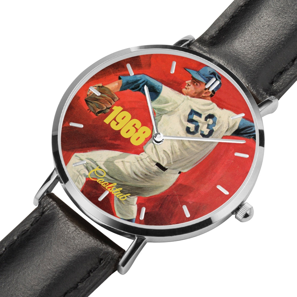 Coolstub™ 1968 Retro Baseball Pitch Watch